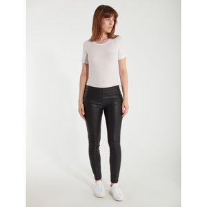Blank NYC Pussy Cat Leather Skinny Leggings Pants